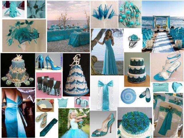 27.8.2011 - inspirace, představy a co už máme - trocha modré inspirace...