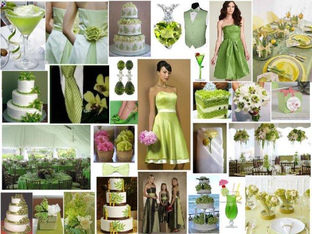 27.8.2011 - inspirace, představy a co už máme - Ani zelená nesmí chybět...