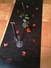 ...výzdoba na stůl na hostinu.. :-)