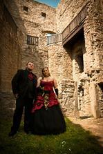 ...hradní pán a jeho žena.. :-D
