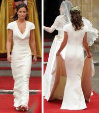 Krásné šaty...hezčí než nevěsta!!!