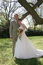 novomanželé Bárkovi...