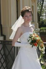 podle manžela nejkrásnější fotka ze svatby....