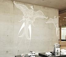 Filidomek - představy - betonova zed - tentokrat s malbou -hmmmm
