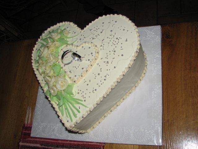 Tinka{{_AND_}}Durko - svadobna torta