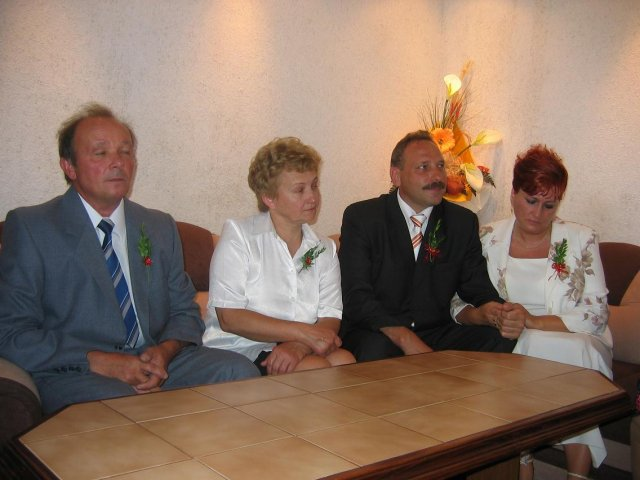 Jarka Drinková{{_AND_}}Lukaš Longauer - svadobní rodicia
