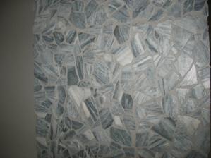 kamenná mozaika, nejprve nás zklamala, ale už jsme si zvykli
