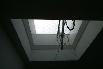 strešné okno na 2.poschodí