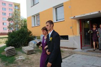 vycházíme od nevěsty