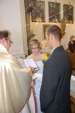 čtení manželského slibu