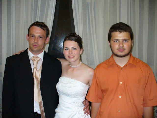 Veronika{{_AND_}}Denes - s mojim bratom