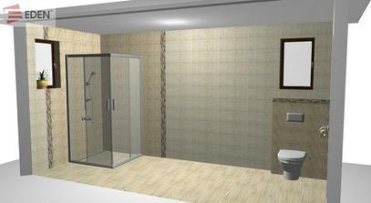 Medzi spchovy kut a wc pride este vysoka skrinka + kos na pradlo