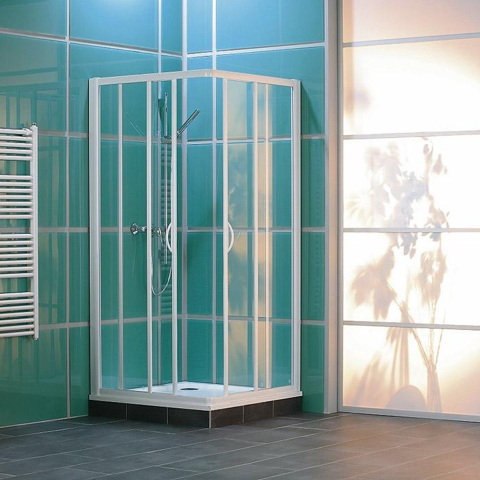 Náš domček - Ronal Tango 100x100, sklo satén, matný elox