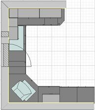 navrh kuchyne 1