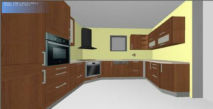 navrh kuchyne 3