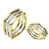 Snubní Titanové prsteny R-TI-3039B