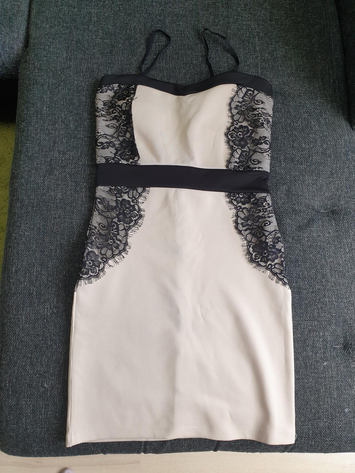 Čipkované šaty  č. 40/L - Obrázok č. 1