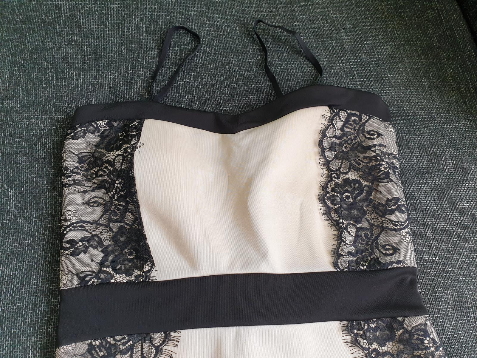 Čipkované šaty  č. 40/L - Obrázok č. 2
