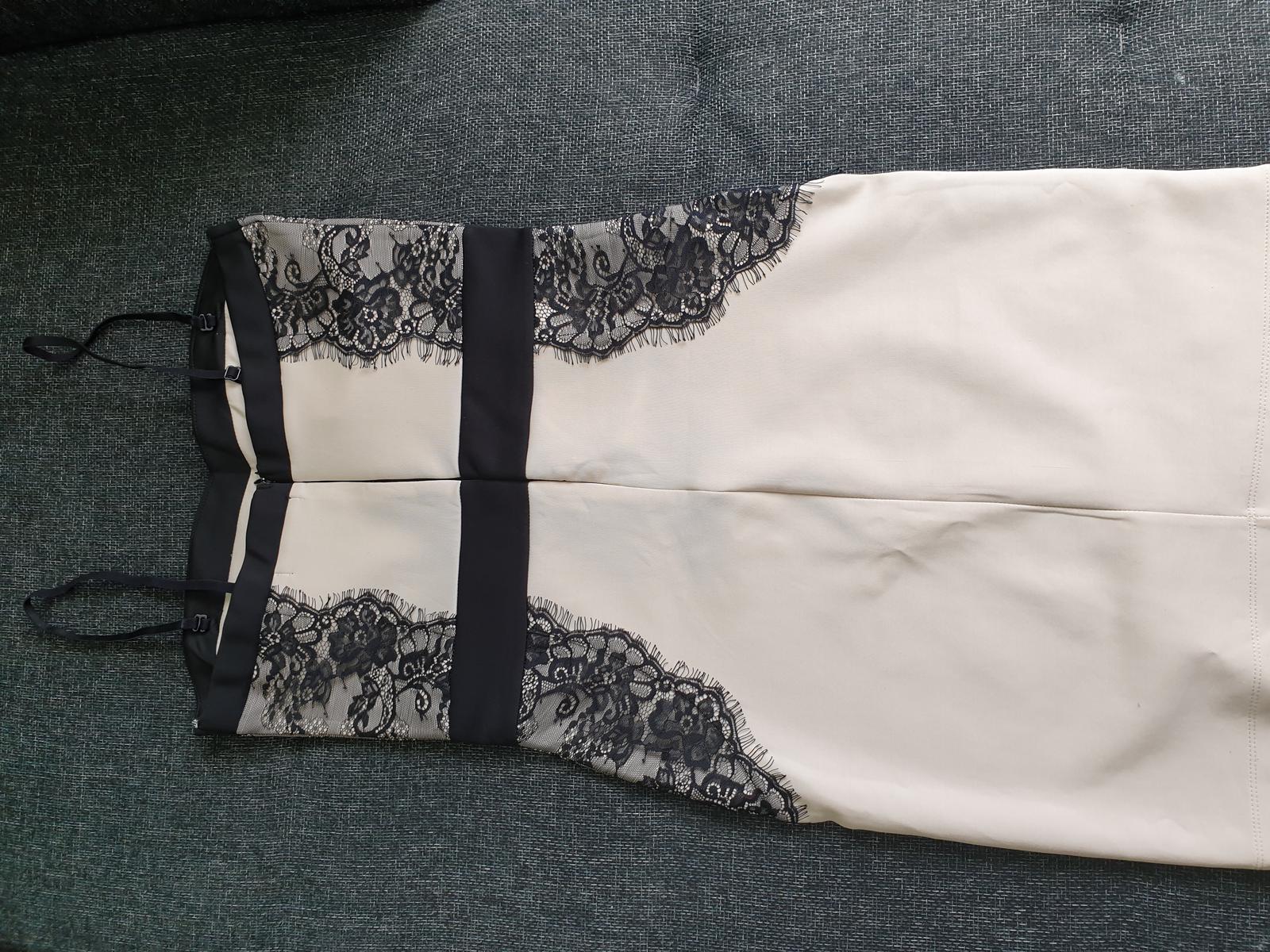 Čipkované šaty  č. 40/L - Obrázok č. 3