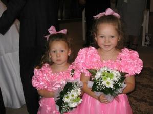 družičky, holčiny nevěstiny sestry