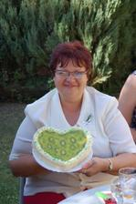 dortík pro maminku nevěsty