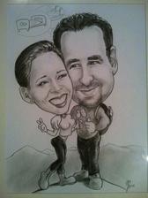 Dárek pro manžela k 6. výročí seznámení:-)