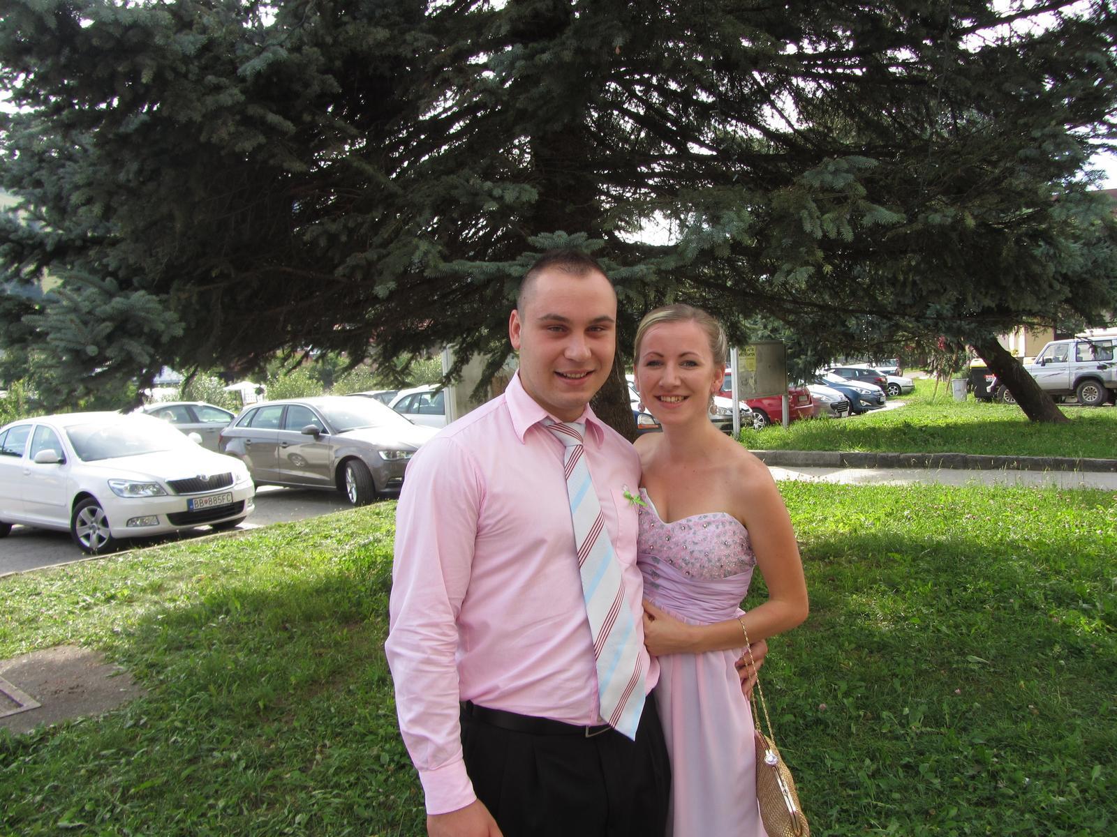 Ružovo-modré šaty  - Obrázok č. 2