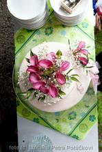kytička na dortíku