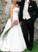 svadobná vesta s kravatou, 42