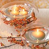 Plávajúce sviečky 24 kusov,
