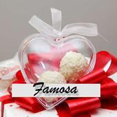 Krabička na darček pre svadobných hostí,