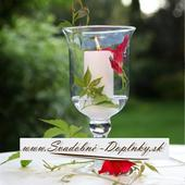 Svietnik / váza ,
