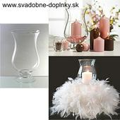 Svietnik/váza Lampión, 25 cm,