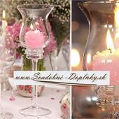 Svietnik/váza Elegant, 29 cm,