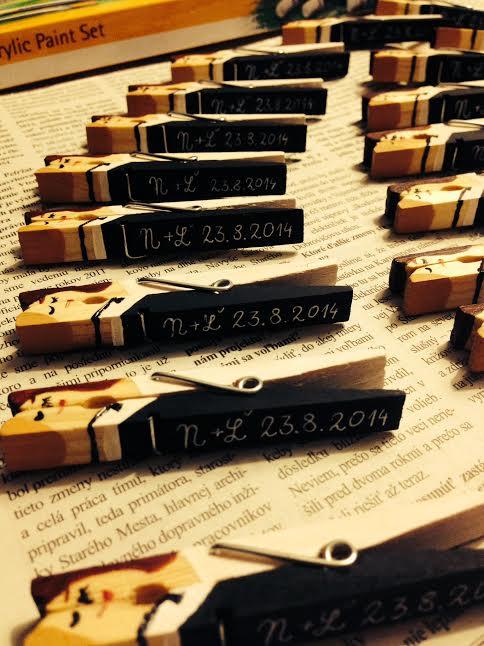 Prípravy - užívanie plnými dúškami! - už máme iniciálky a dátum :)
