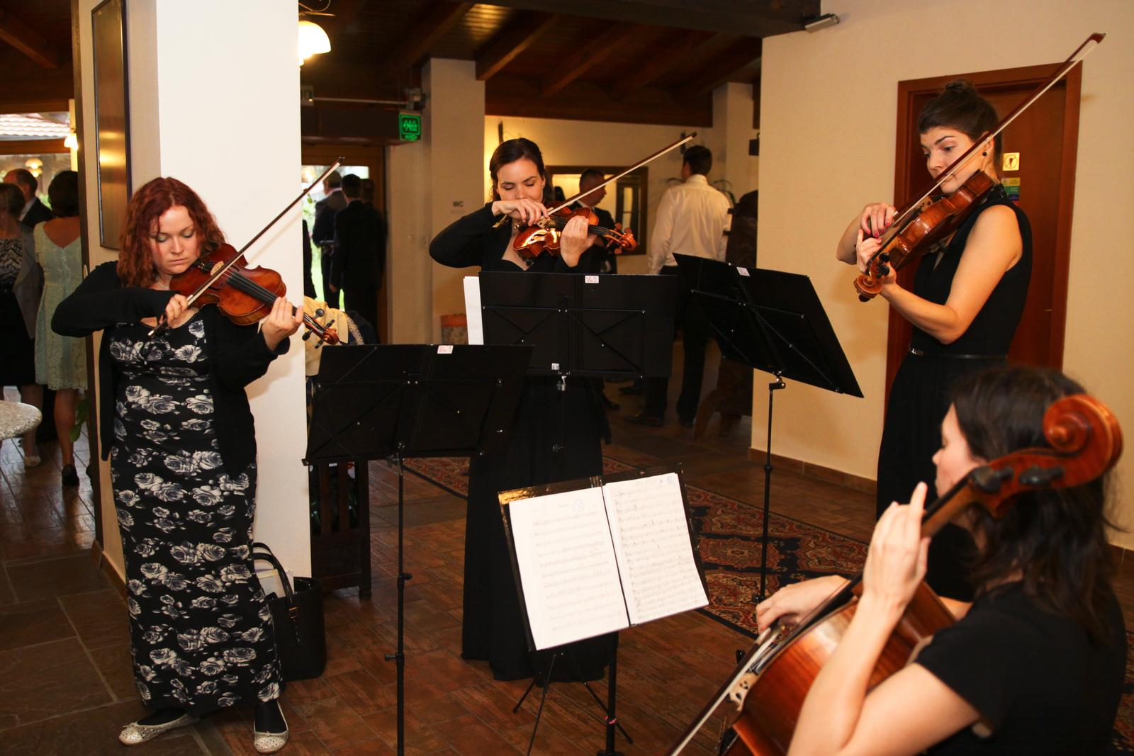 Nikol{{_AND_}}Ľudko - Dámy z Hummel Quartet boli famózne bez ohľadu na miesto!