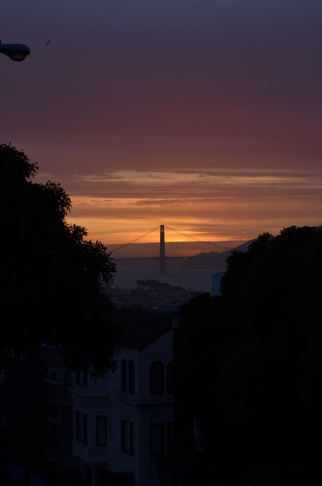 """""""If you can dream it, you can do it."""" - sunset nad GG sme zastihli úplnou náhodou :) o to viac potešil!"""
