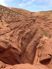 Antelope Canyon - ešte na povrchu :)