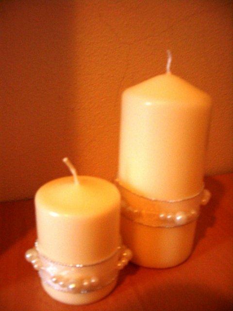 Toto už máme hotové - Znova sviečky.