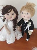 Svadobný pár ,