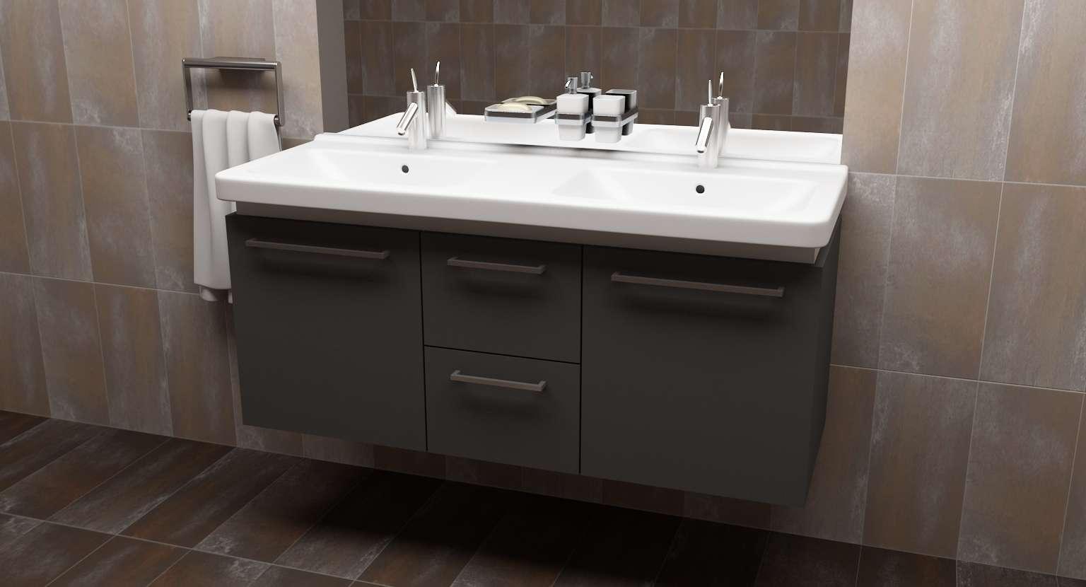 Skrinka pod umývadlo na mieru - Obrázok č. 1