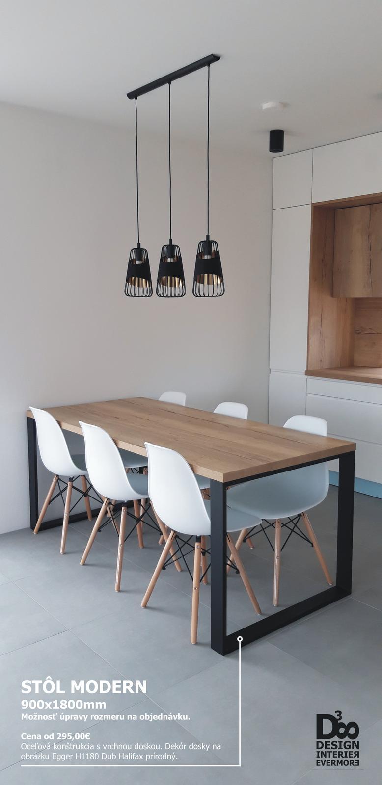 Stôl na mieru - vlastná výroba  - Obrázok č. 1