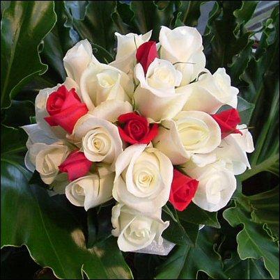 Nasa svadba - ...alebo takato daka + ruzove ruze. :) A len ruze.