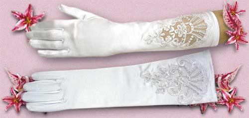 Nasa svadba - Chcela by som rukavice dlhe a s prstami.
