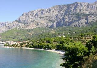Podgora, Chorvatsko - su tam taketo krasne hory a more.