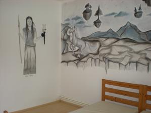 malba v detskej... otras.. :-( skriabeme steny