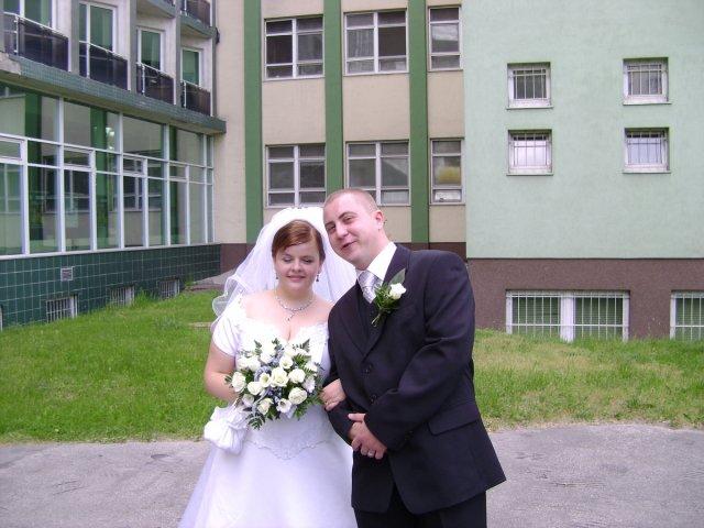 Zuzka Štvrtecká{{_AND_}}Milanko Hanzl - Trošku nepodarená :-)