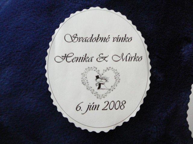 7. juna 2008 - etikety na vino dame asi tieto, este cakam na schvalenie:))