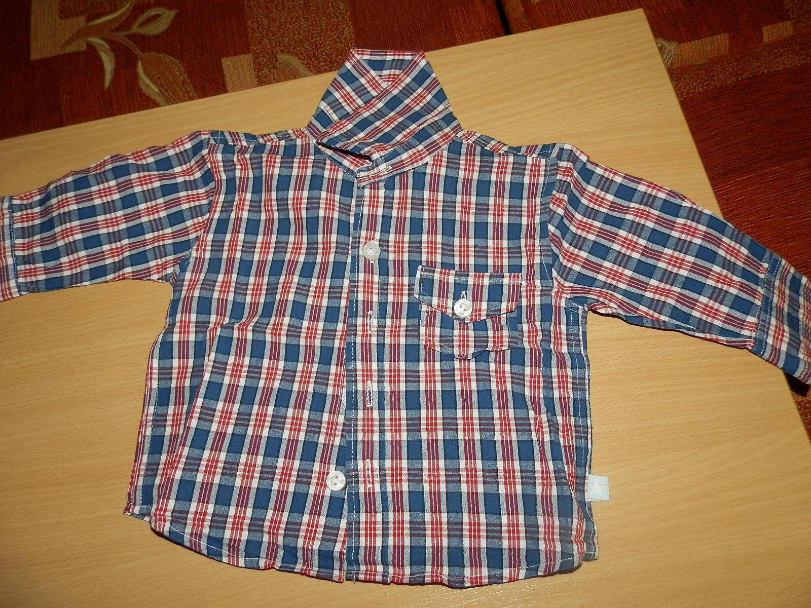 Košeľa 1x oblečená - 74 - Obrázok č. 1