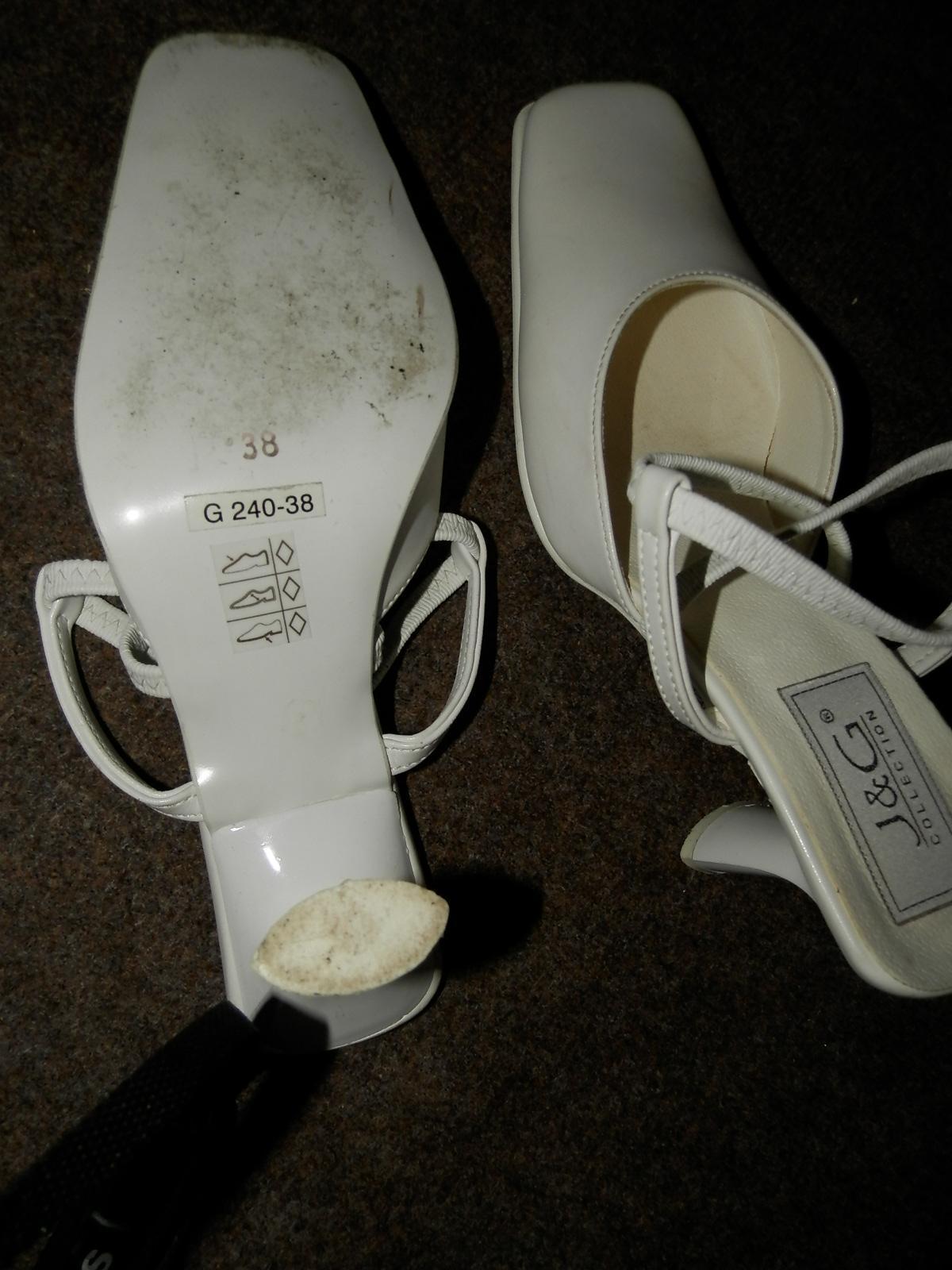 svadobné/spoločenské sandále - Obrázok č. 4